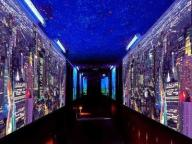 Świecące Gwiazdki Kosmos Fototapeta 3D Do Klubów