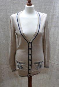 1c9a2907c0d657 ZARA śliczny sweter długi cienki kardigan S - 6453369013 - oficjalne ...