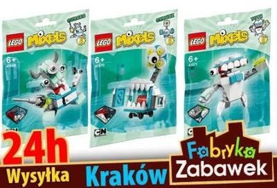 Lego Mixels 41569 41570 41571 3 Sztuki 6586169954