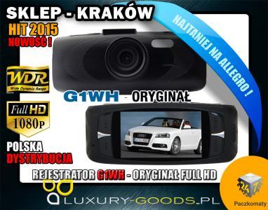 KAMERA SAMOCHODOWA G1WH 1080p FULL HD NOVATEK HIT!