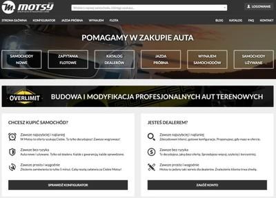Serwis internetowy Motsy.pl