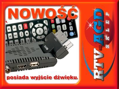 WIWA HD50 TUNER DVB-T PVR&MEDIA HD 50 NOWOŚĆ !
