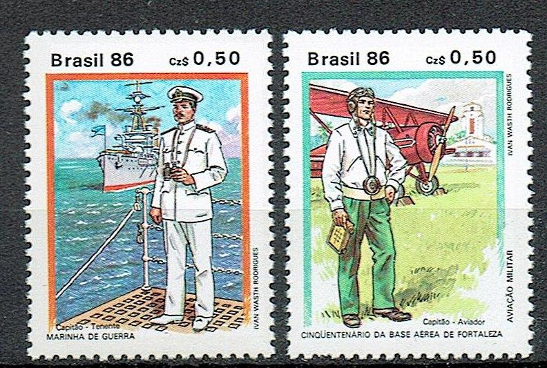 1310 ** czyste Brazylia 2202/03 statek samolot