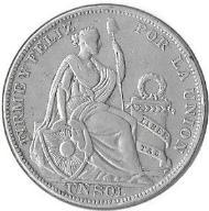 Peru 1 sol 1925 - stan jak na zdjęciu
