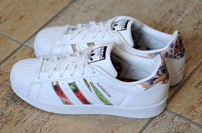 Adidas superstar S83382 z kolorowymi paskami 40