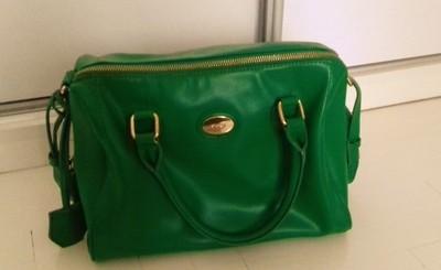 torebka orsay zielony kuferek