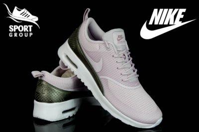 spotykać się konkurencyjna cena fantastyczne oszczędności Buty Nike AIR MAX THEA TXT 819639 501 RÓŻ 36,5-42 ...