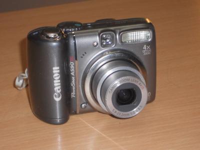 APARAT CYFROWY CANON A590 IS + KARTA 4 GB