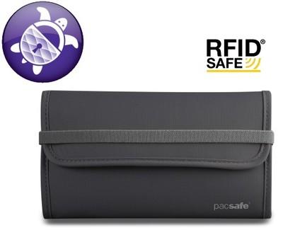 3df35b3d6ad0c PACSAFE RFID-tec 250 Portfel RFIDsafe antykradzież - 5645936528 ...