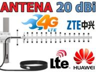 Antena YAGI 20dBi 10m LMR240 do HUAWEI, ZTE - HIT!