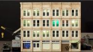 Oświetlenie budynków makieta diorama H0 TT N