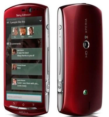 Sony Xperia Neo V Red Ladny Tanio 6875123827 Oficjalne Archiwum Allegro