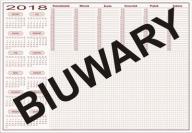 BIUWAR 2018 - B3, 52 kartki - 25 szt