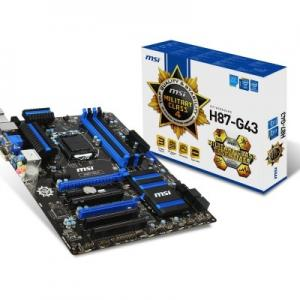 MSI H87-G43 s1150 H87 4DDR3 USB3/GLAN ATX