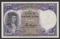 Hiszpania - 100 peset - 1931 - de Cordoba *