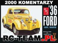 AMT Model plastikowy do sklejania 1936 Ford Coupe