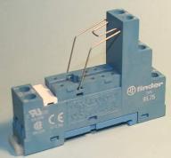 Gniazdo przekażnika F95.75.0.000.0000-GZ80 na szyn