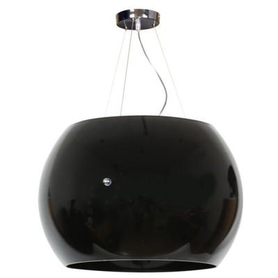 Gemo Lampa Wisząca 30cm Szklana 3x40w G9 Czarna 5771651812