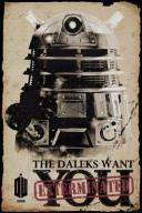 Doctor Who Daleks Want You - plakat 61x91,5 cm