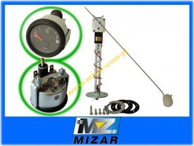 Zestaw pomiaru poziomu paliwa pływak+wskaźnik 12V