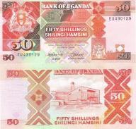 UGANDA 50 SHILLINGS 1987 P-30 UNC