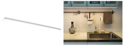 Ikea Omlopp Oświetlenie Blatu Led Srebrny 80cm 6017409744