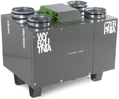 OXY Rekuperator Thesla AirPack 400v montaż projekt