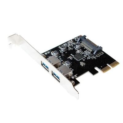 Karta PCI Express, 2 x USB 3.1 typ-A żeński