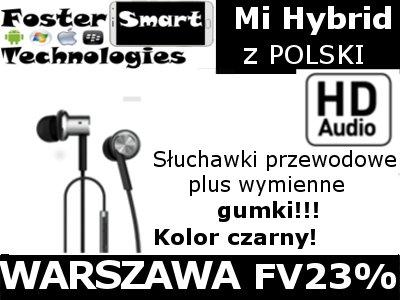 Słuchawki XIAOMI PISTON HYBRID IRON  Fv23% Wawa