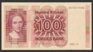Norwegia - 100 koron - 1992 - Collet
