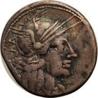 Rzym - Republika AR-denar M. Carbo 122 p.n.e. st.3