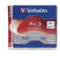 VERBATIM BD-RE DL 50GB wielokrotny zapis 5szt PACK