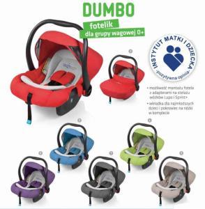 Fotelik Samoch Nosidelko Baby Design Dumbo 0 13kg 3145473134 Oficjalne Archiwum Allegro