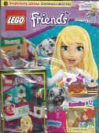 LEGO FRIENDS magazyn nr 6/17 + Domowa cukiernia