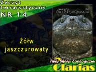 ZESZYT TERRARYSTYCZNY NR 14 - Żółw jaszczurowaty