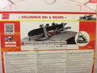 Magnetyczny bagażnik na narty snowboard Fabbri Kol
