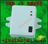 Konwerter USB na RS485 sprawdzony z izolacją!