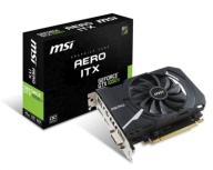 Karta MSI GeForce GTX 1050 Ti AERO ITX 4GB OCV1