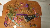 Biżuteria dla dziewczynki duży zestaw