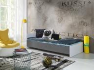 Łóżka Łóżko młodzieżowe 180 x 90 Materac + stelaż