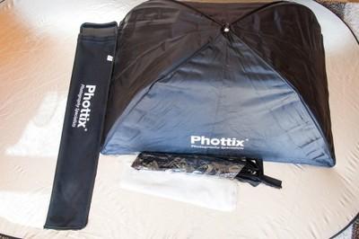 Softbox Phottix 60x90cm + raster + uchwyt Varos XS