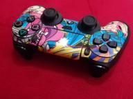 DualShock4 Funny Grafitti + gumowe nakładki GRATIS