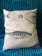 Poduszka w ryby dla wędkarza
