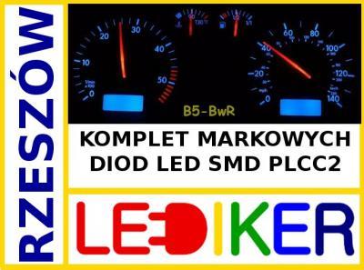 VW PASSAT B5 96-97 oświetlenie LED licznika zegary