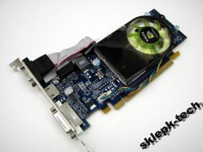 Geforce 9300GE 256MB HDMI NOWA GWAR FV SKLEP