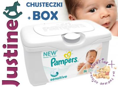 Pampers Chusteczki Sensitive 0 Pudelko Box 5037110175 Oficjalne Archiwum Allegro