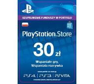 PLAYSTATION NETWORK 30 ZŁ KARTA PSN - AUTOMAT 24/7