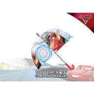 Parasol manualny Cars Auta