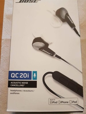 Bose QuietComfort QC20 i Apple iPhone oryginalne