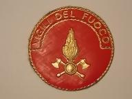 Emblemat Włochy Straż Pożarna
